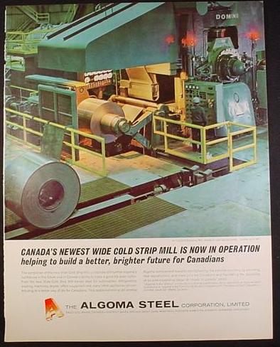 Algoma Steel Ad 1965