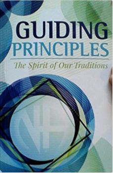 Guiding Principles: The Spirit of Our Traditions - Narcotics Anonymous (Cover)